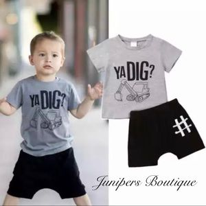 Other - Boutique Boys 2pc YA DIG Outfit